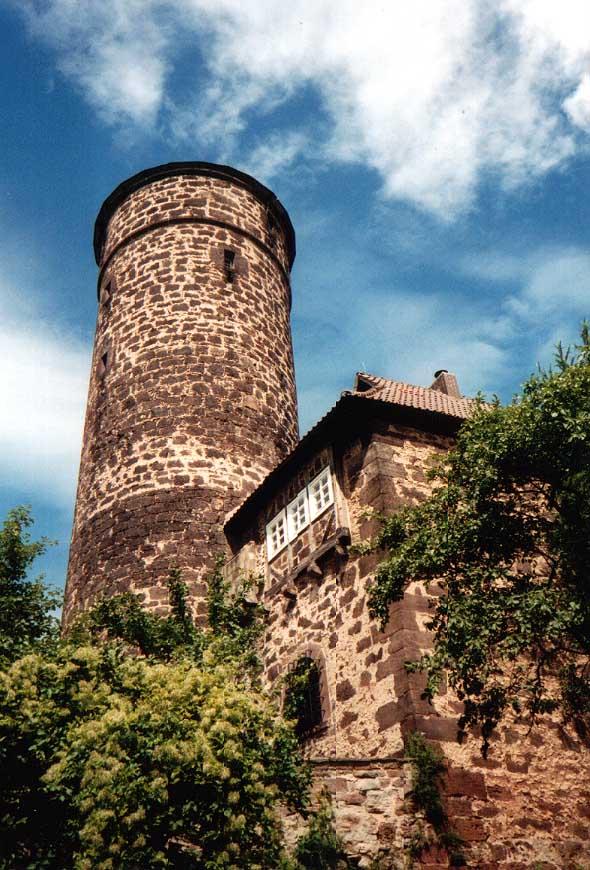 Bild Jugendburg Ludwigstein Witzenhausen