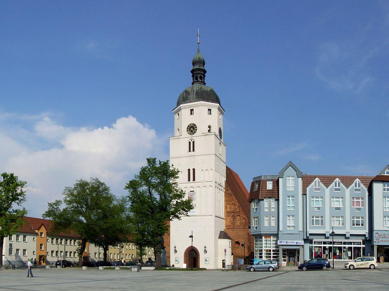Bild Paul Gerhardt Kirche Lübben