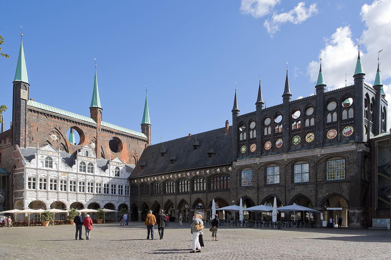 Bild Rathaus Lübeck