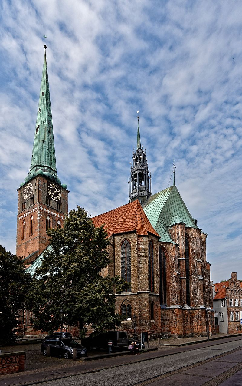 Bild St. Jakobi Kirche Lübeck