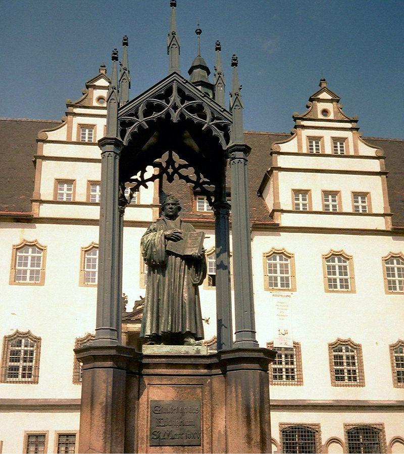 Bild Lutherdenkmal Wittenberg