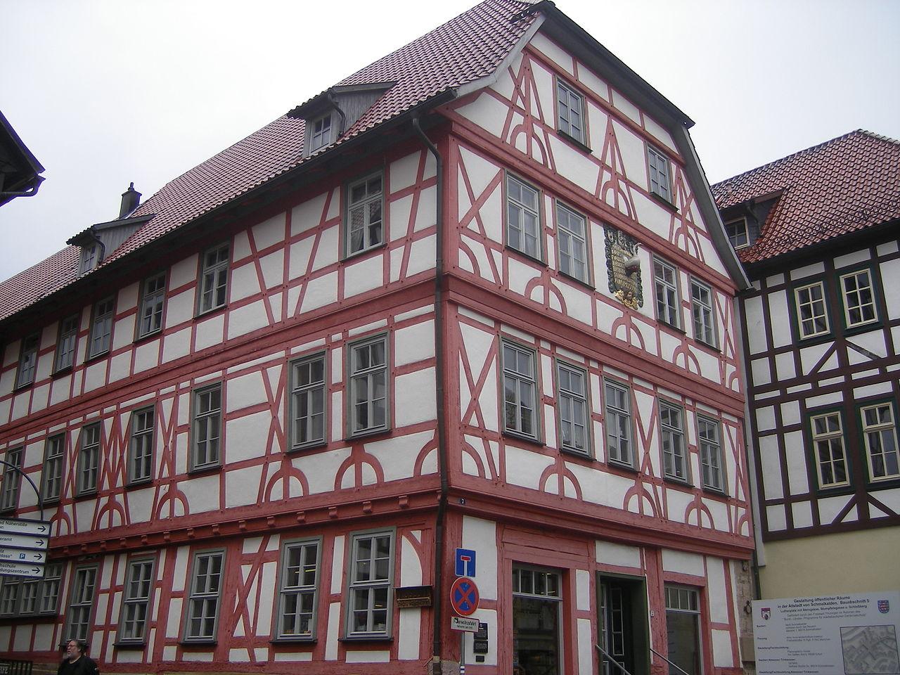 Bild Lutherhaus Schmalkalden