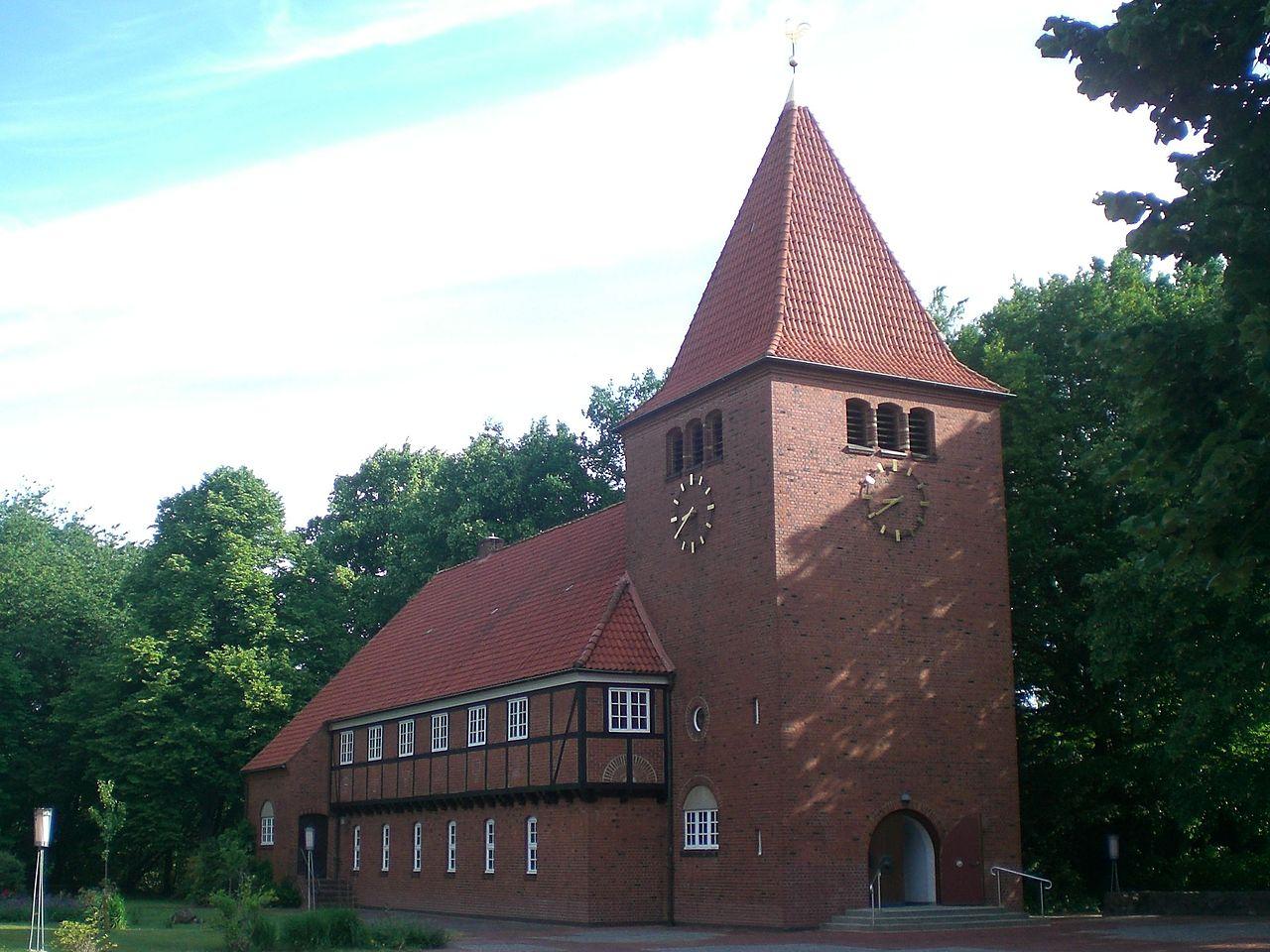 Bild Lutherkirche Wellingsbüttel