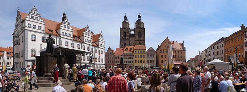 Bild Luthers Hochzeit in Wittenberg