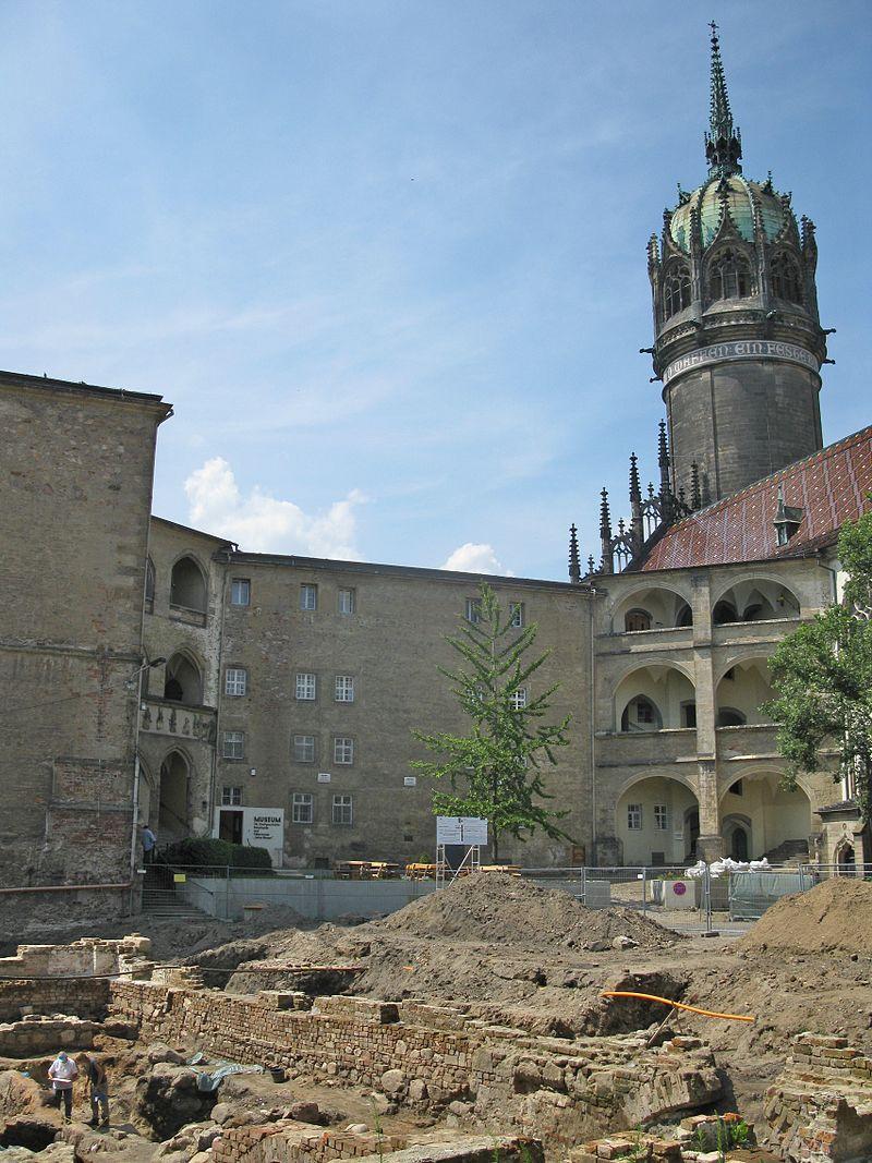 Bild Schloss und Schlosskirche Wittenberg