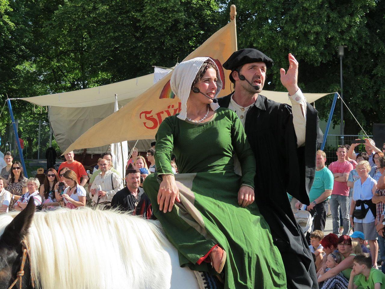 Bild Bauernkriegsspektakel Mühlhausen