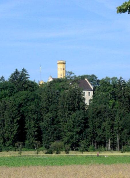 Bild Schloss Wellenburg Augsburg