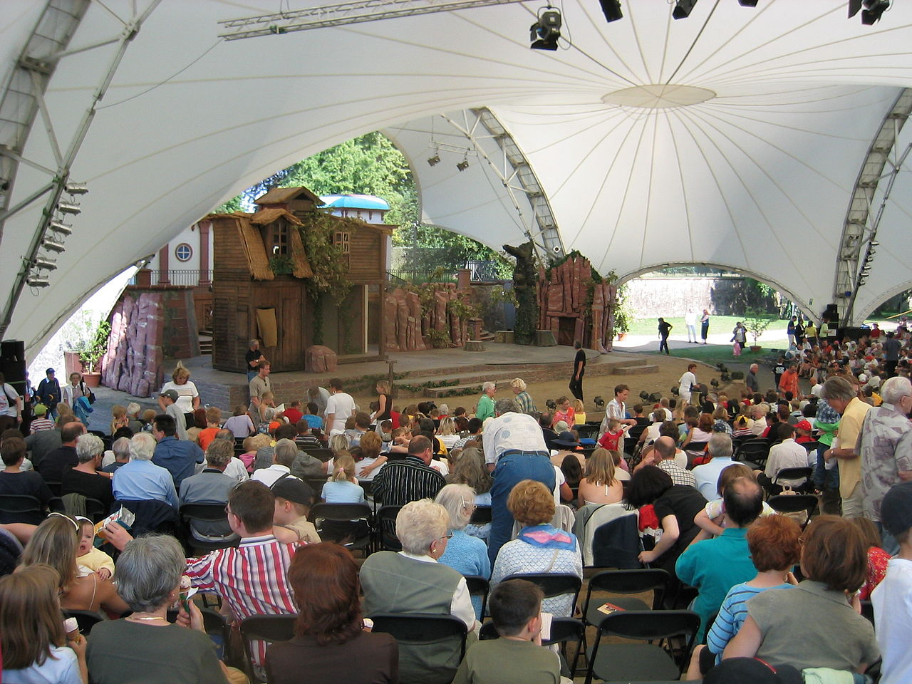 Bild Brüder Grimm Märchenfestspiele Hanau