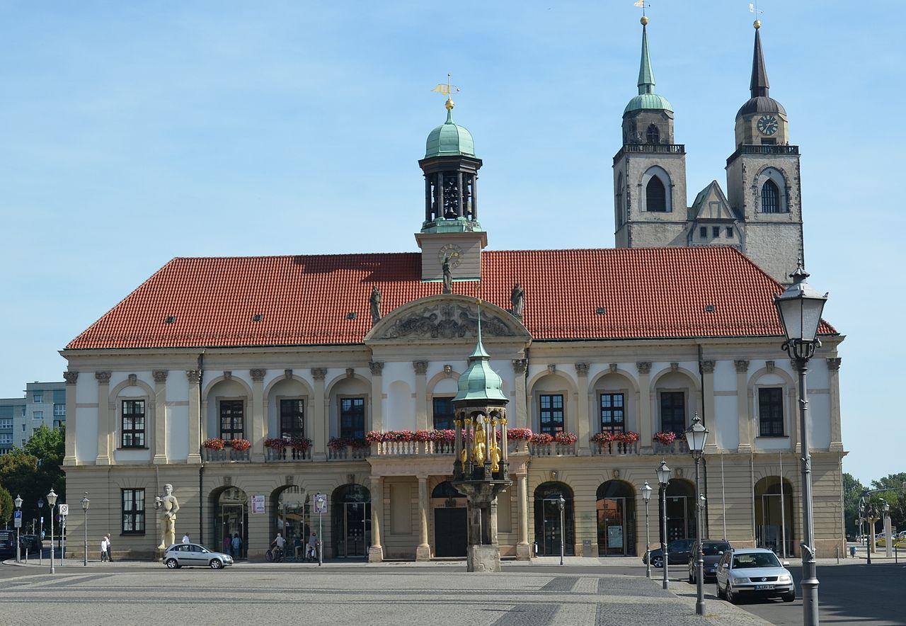 Bild Altes Rathaus Magdeburg
