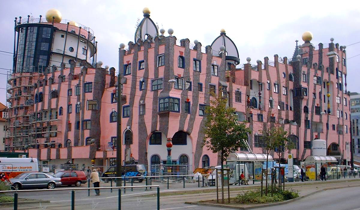 Bild Grüne Zitadelle Magdeburg