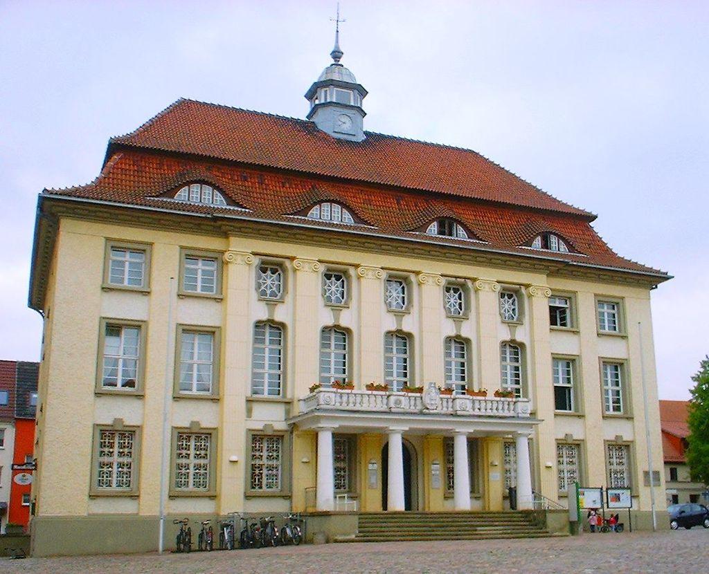 Bild Rathaus Malchin