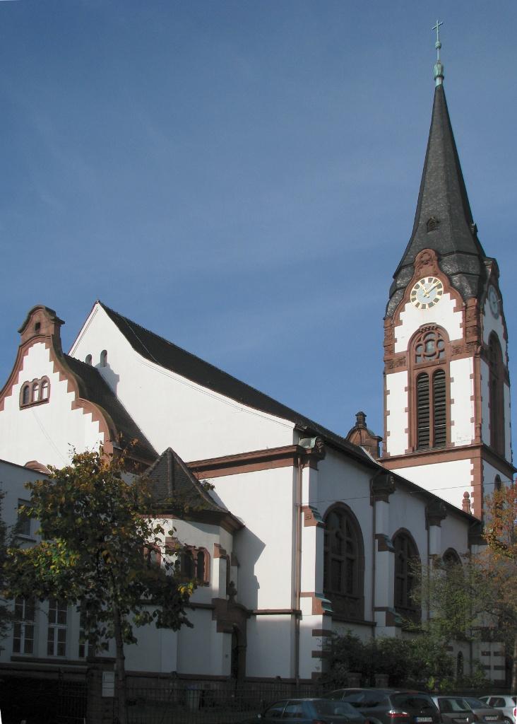 Bild Friedenskirche Mannheim