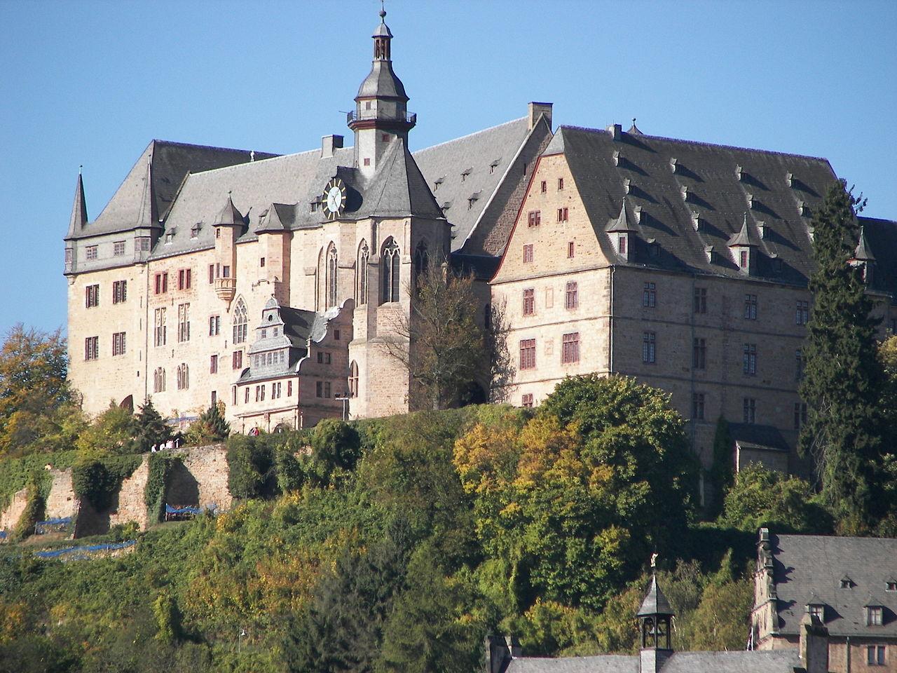 Bild Marburger Schloss