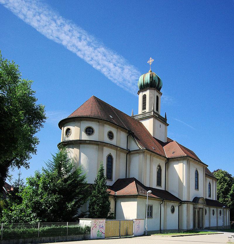 Bild Kirche Maria Hilf Freiburg