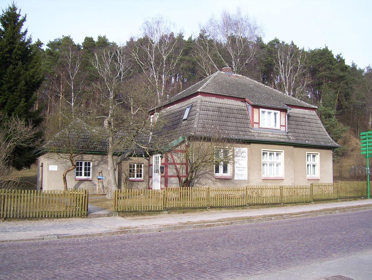 Bild Marie Hager Haus Burg Stargard