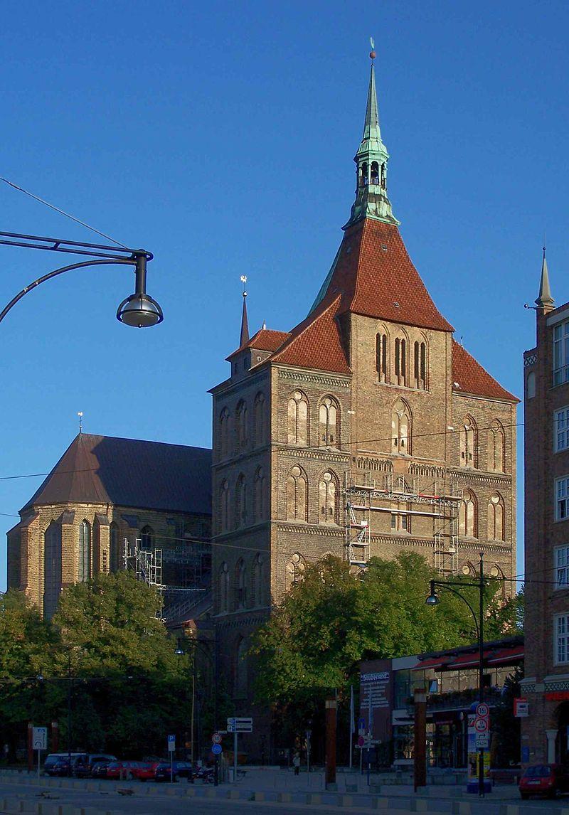 Bild St. Marien Kirche Rostock
