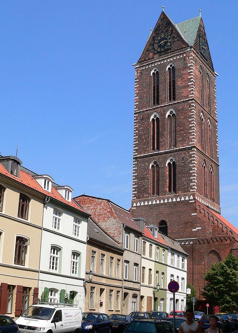 Bild St. Marien Kirche Wismar