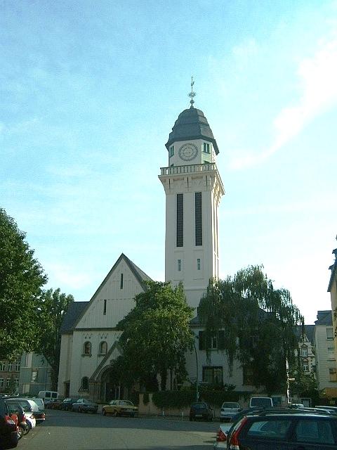 Bild Markuskirche Zentrum Verkündigung der EKHN Frankfurt am Main