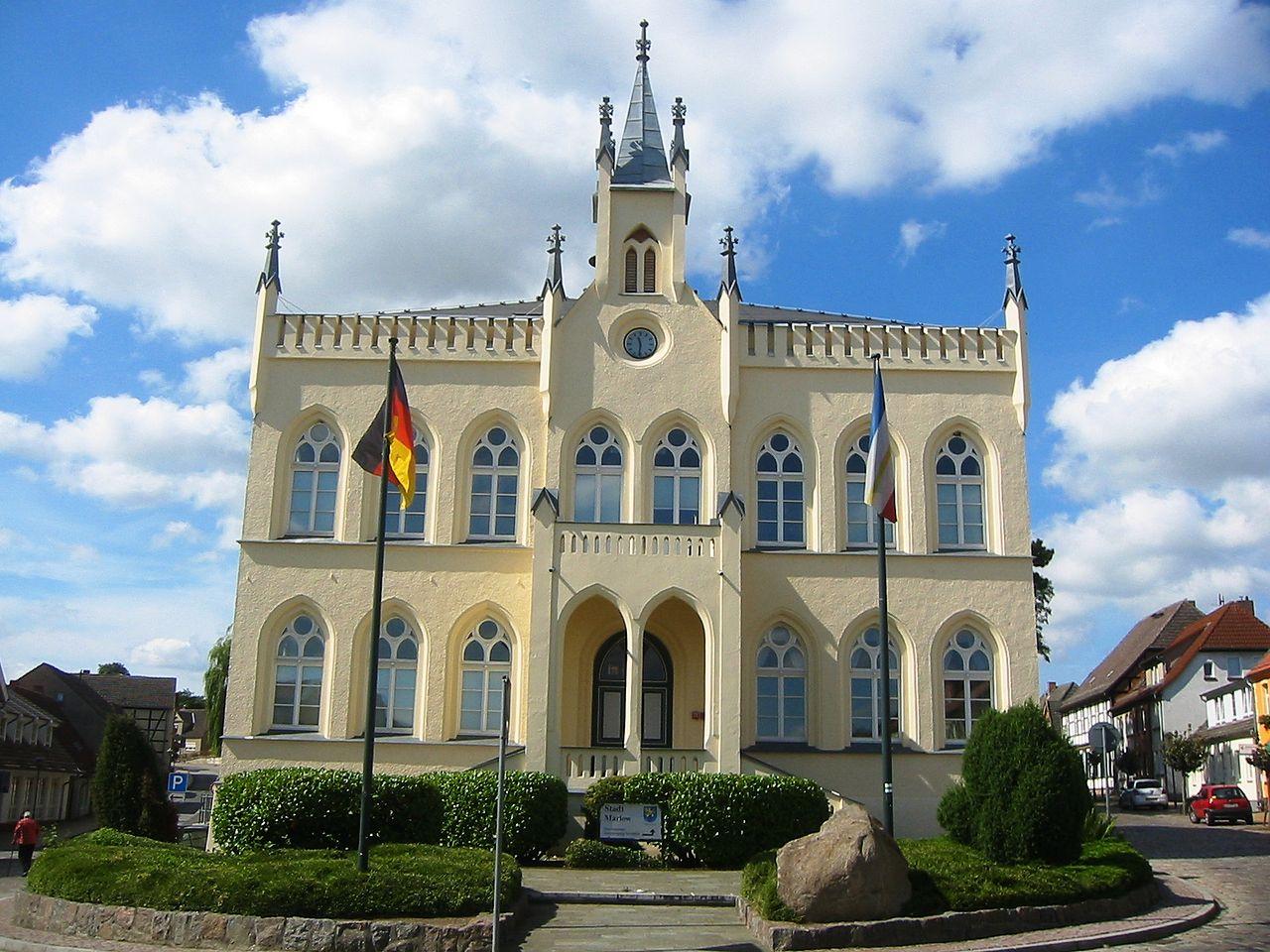 Bild Rathaus Marlow