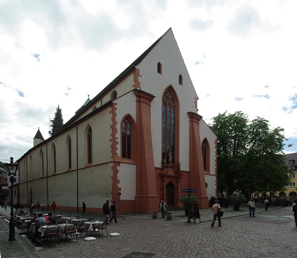 Bild Martinskirche Freiburg