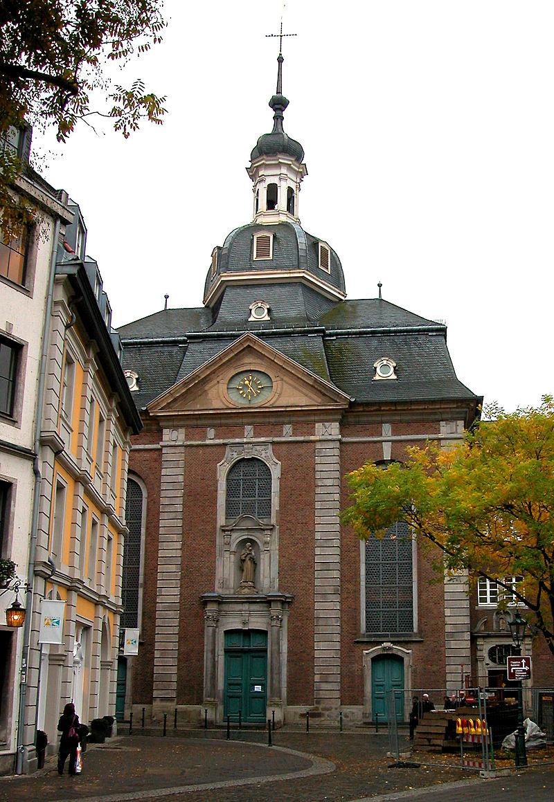 Bild Kirche St. Maximilian Düsseldorf