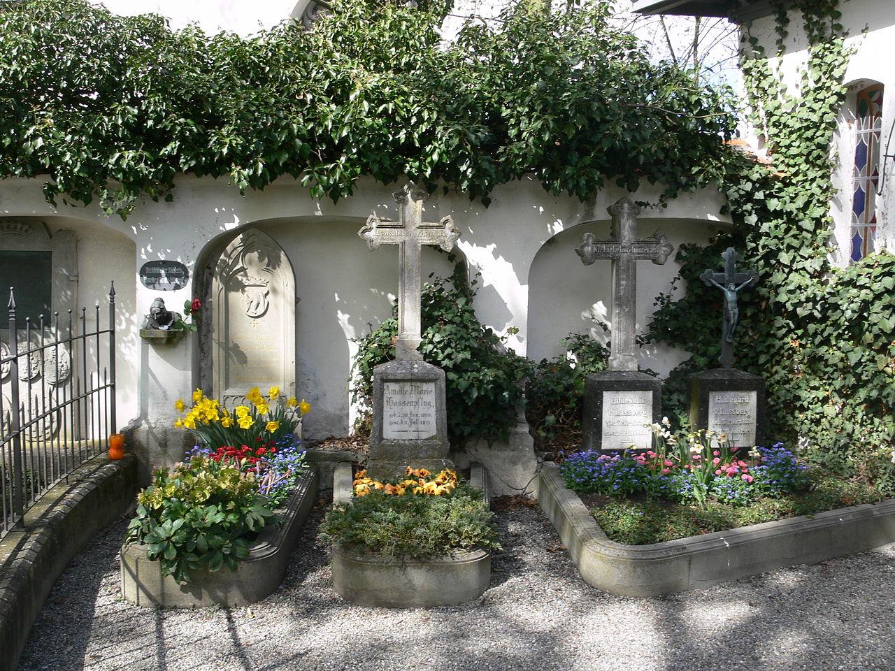 Bild Friedhof Meersburg