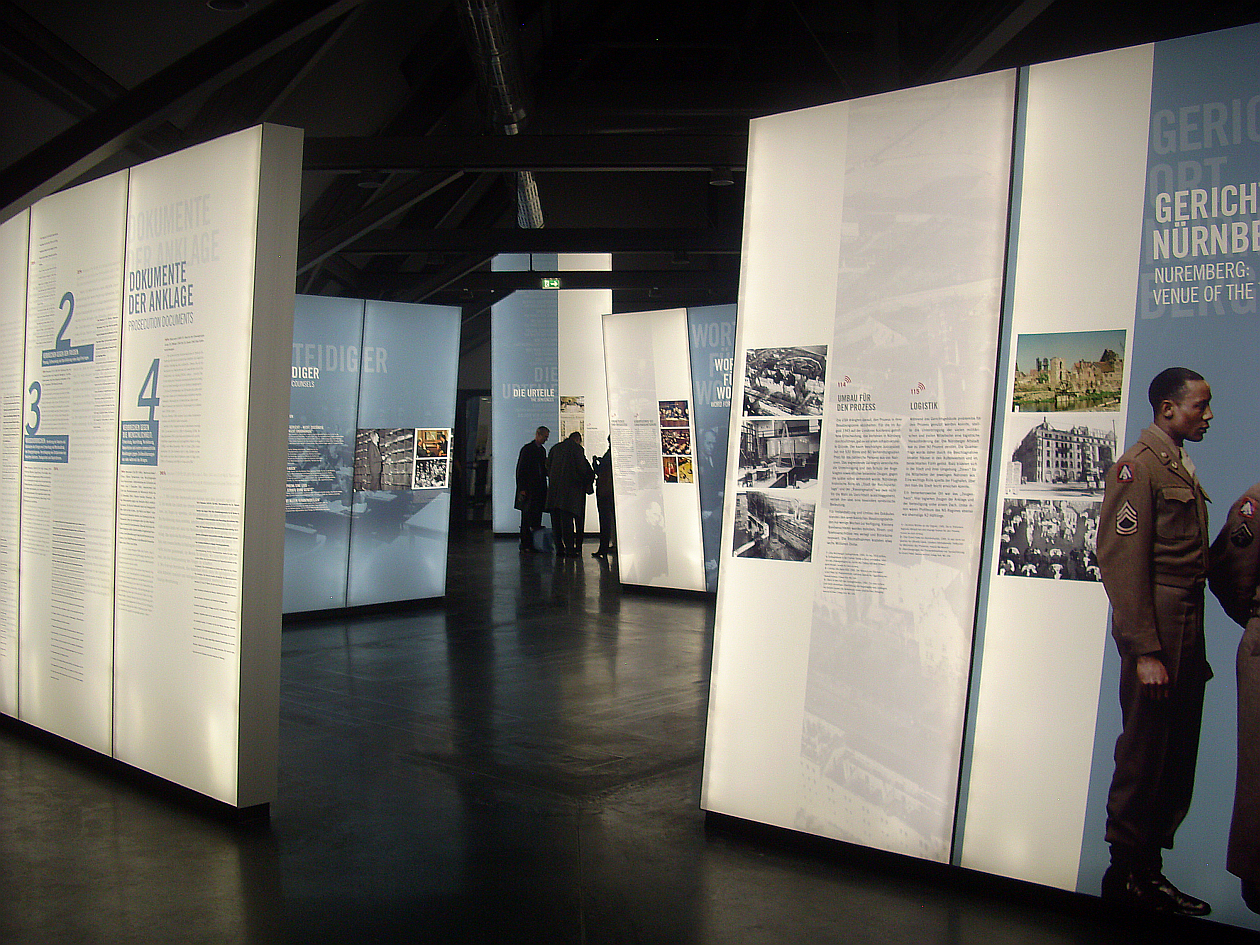Bild Justizpalast und Memorium Nürnberger Prozesse
