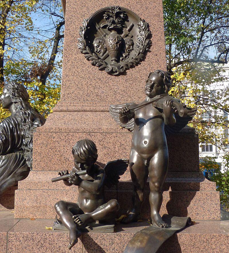 Bild Mendelssohn Denkmal an der Thomaskirche Leipzig