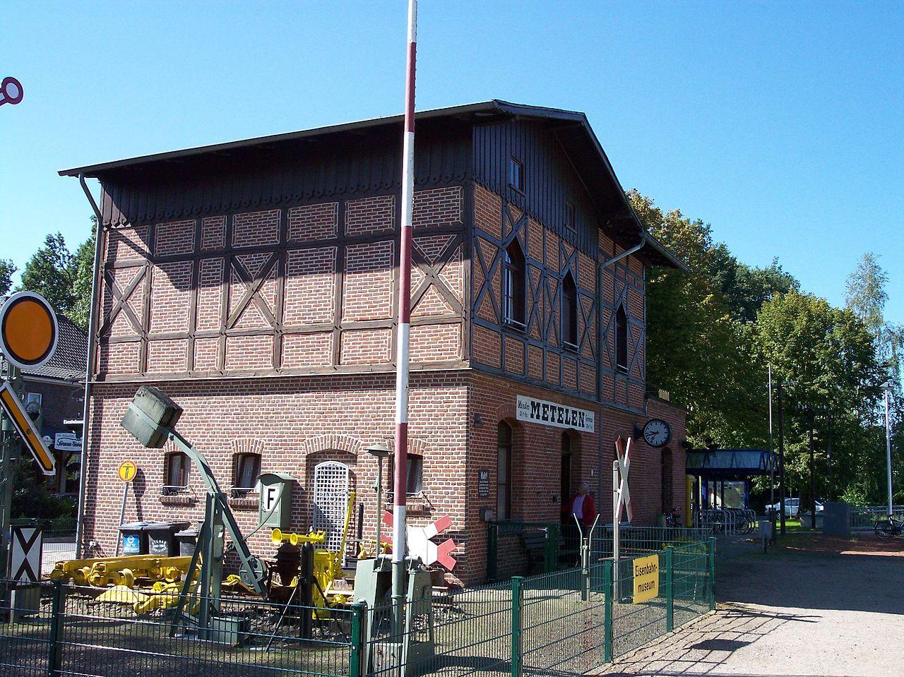 Bild Bahnhof Metelen Land