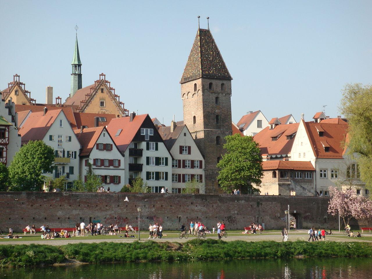 Bild Stadtmauer Ulm