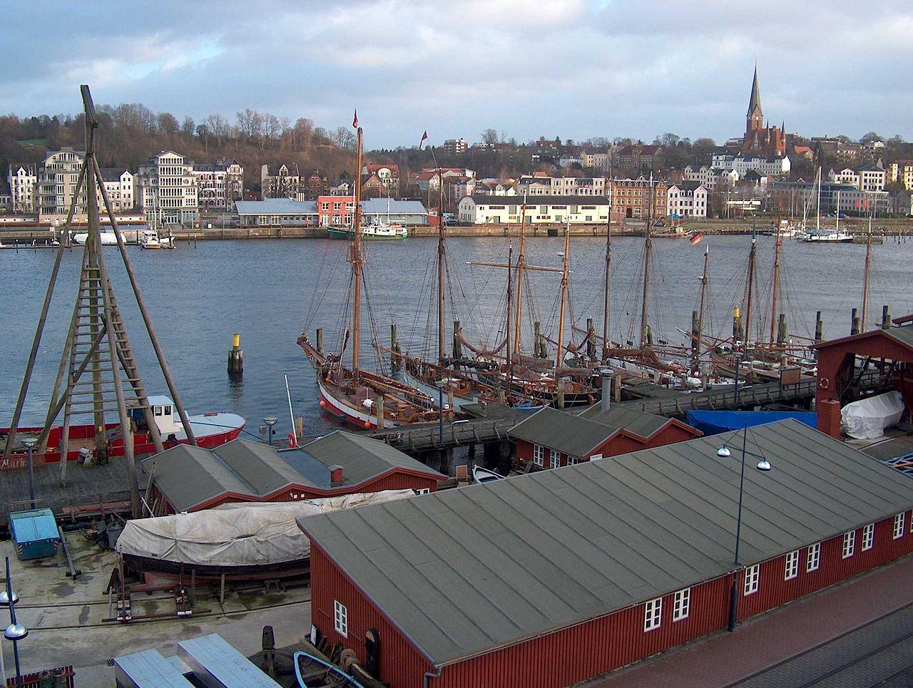 Bild Museumshafen Flensburg