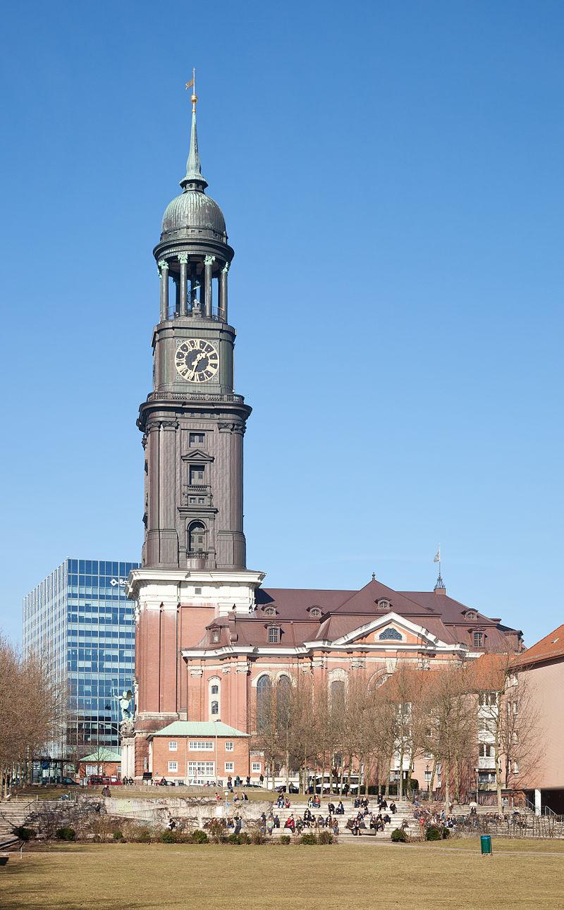 Bild St. Michaelis Kirche Hamburg