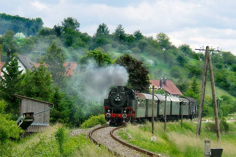 Bild Dampfbahn Kochertal Gaildorf