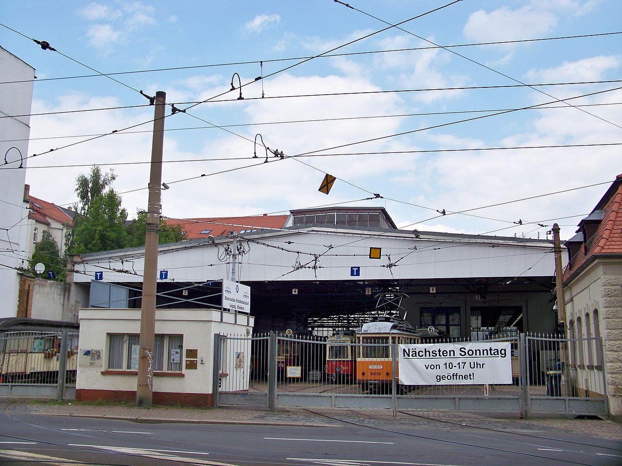 Bild Straßenbahnmuseum Leipzig