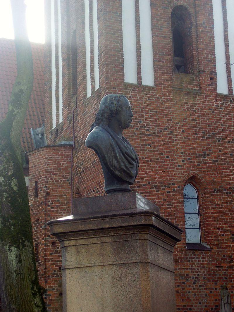 Bild Herder Denkmal Mohrungen