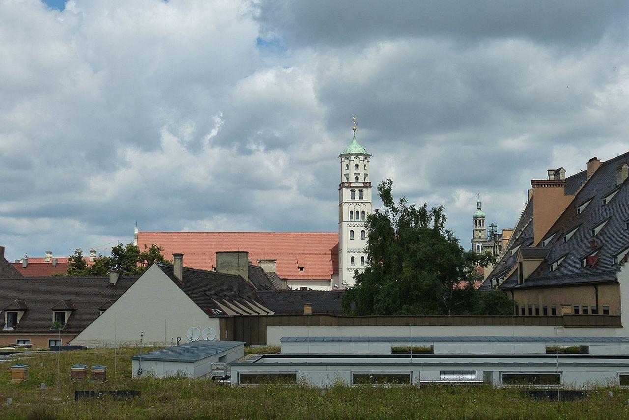 Bild moritzkirche Augsburg