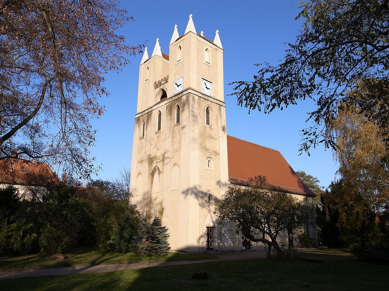 Bild Martin Luther Kirche Mosigkau