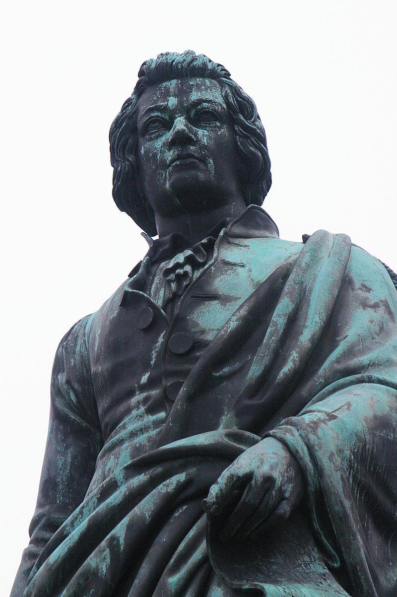 Bild Mozartdenkmal Salzburg