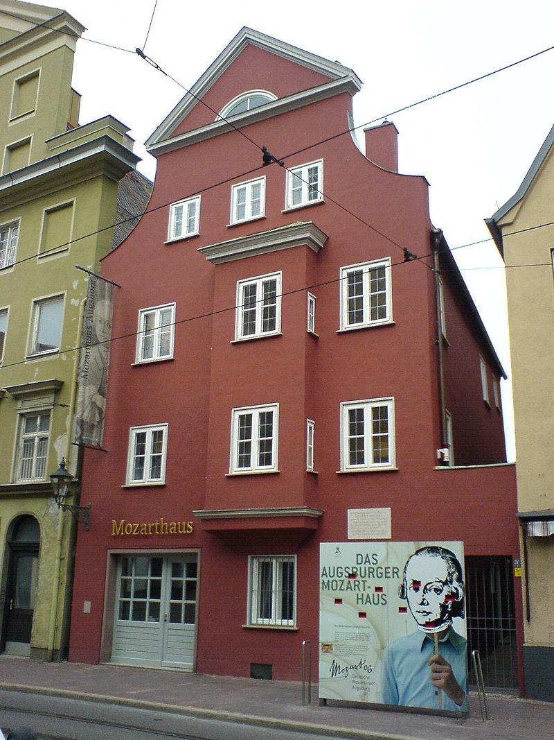 Bild Mozarthaus Augsburg