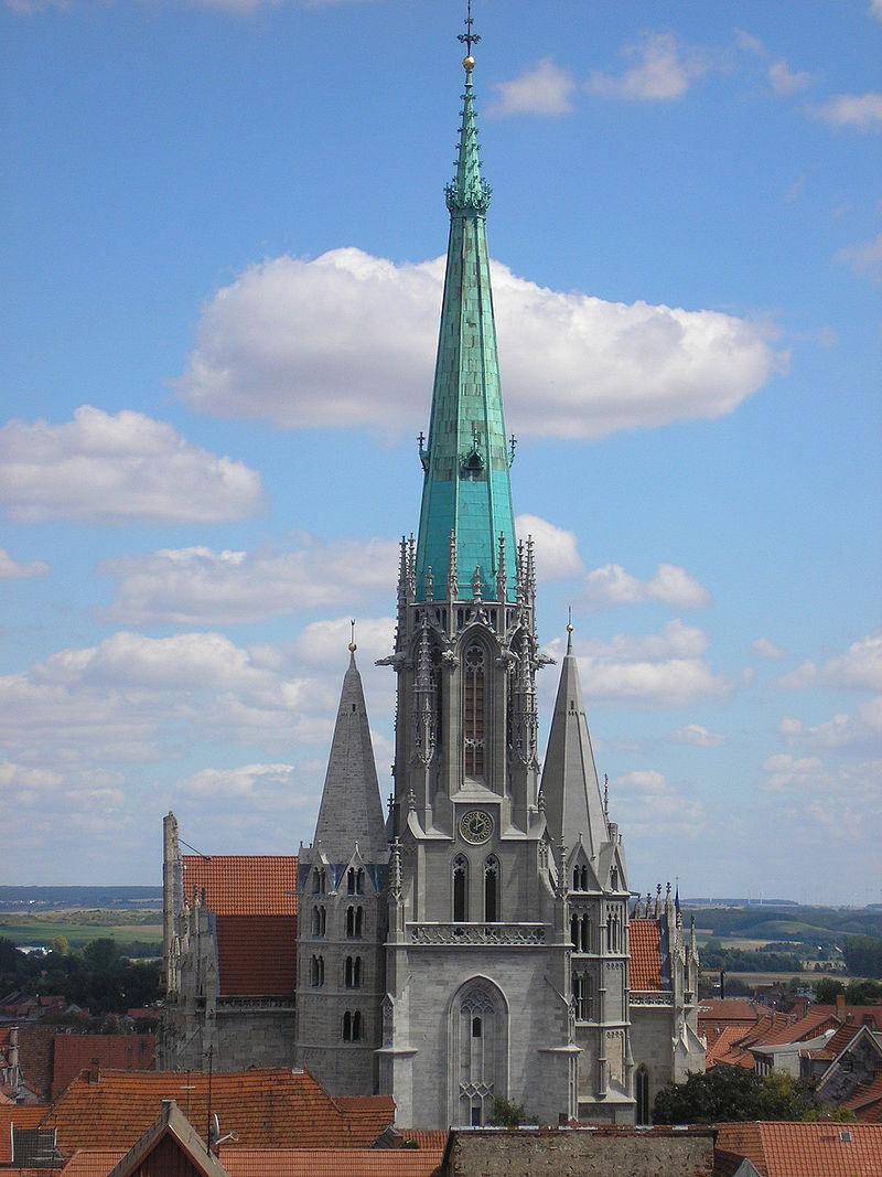 Bild Müntzergedenkstätte Kirche St. Marien Mühlhausen