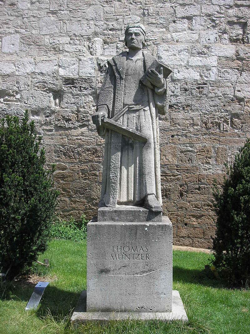 Bild Thomas Müntzer Denkmal Mühlhausen