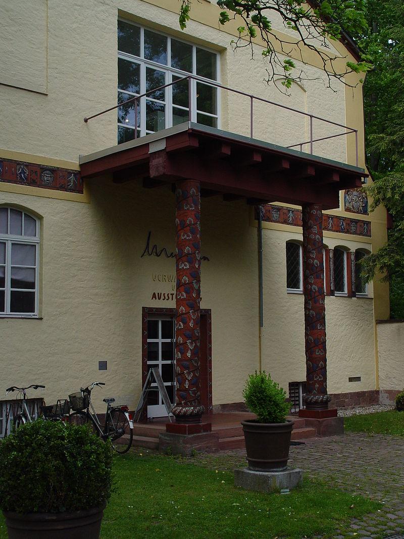 Bild Museum in der Majolika Karlsruhe