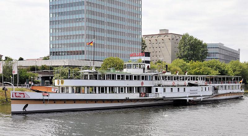 Bild Museumsschiff Mannheim
