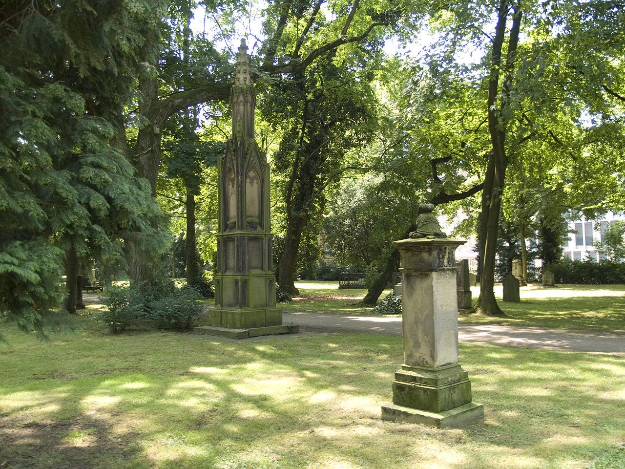 Bild Golzheimer Friedhof Düsseldorf