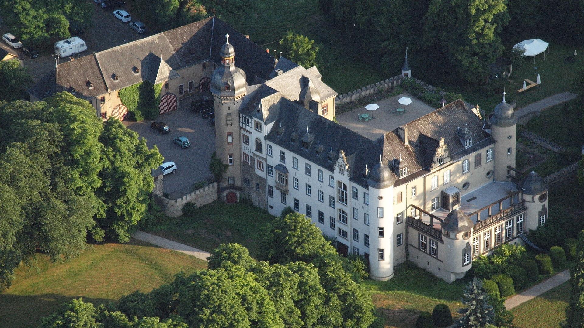 Bild Burg Namedy