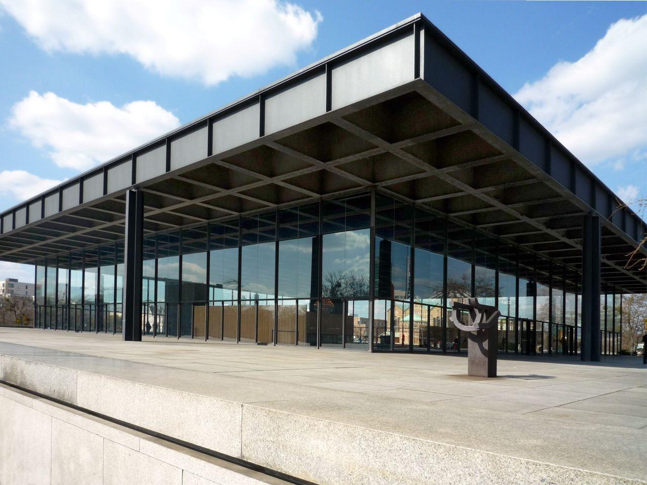 Bild Neue Nationalgalerie Berlin