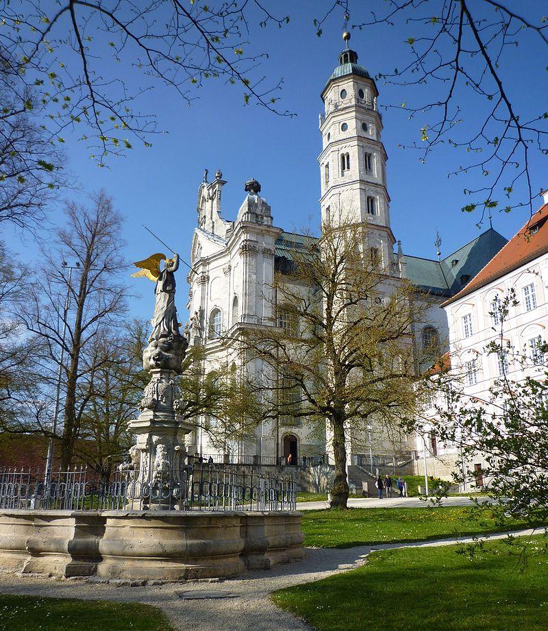 Bild Benediktinerabtei Neresheim