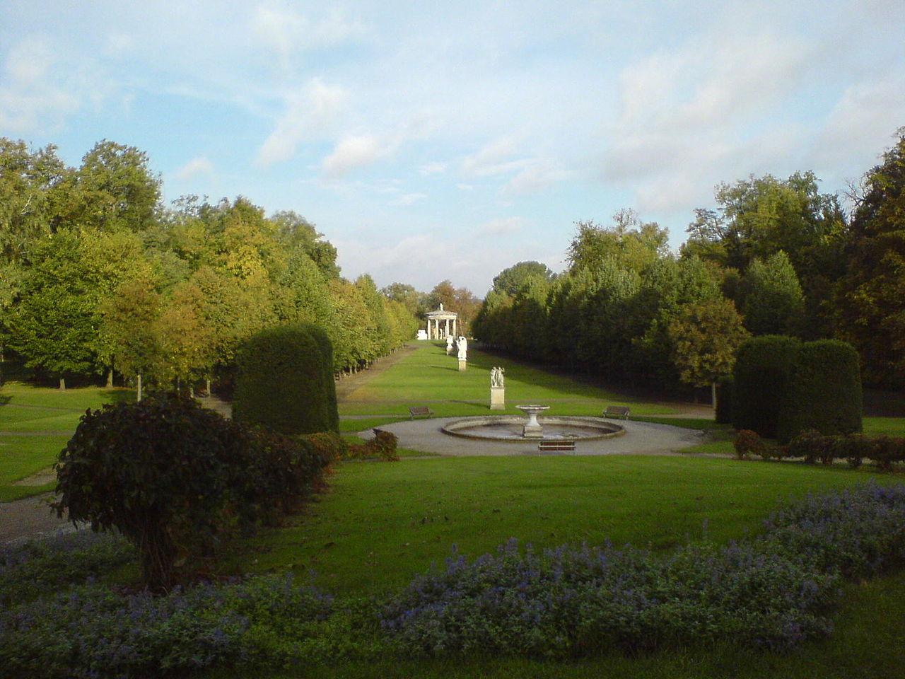 Bild Schlossgarten Neustrelitz