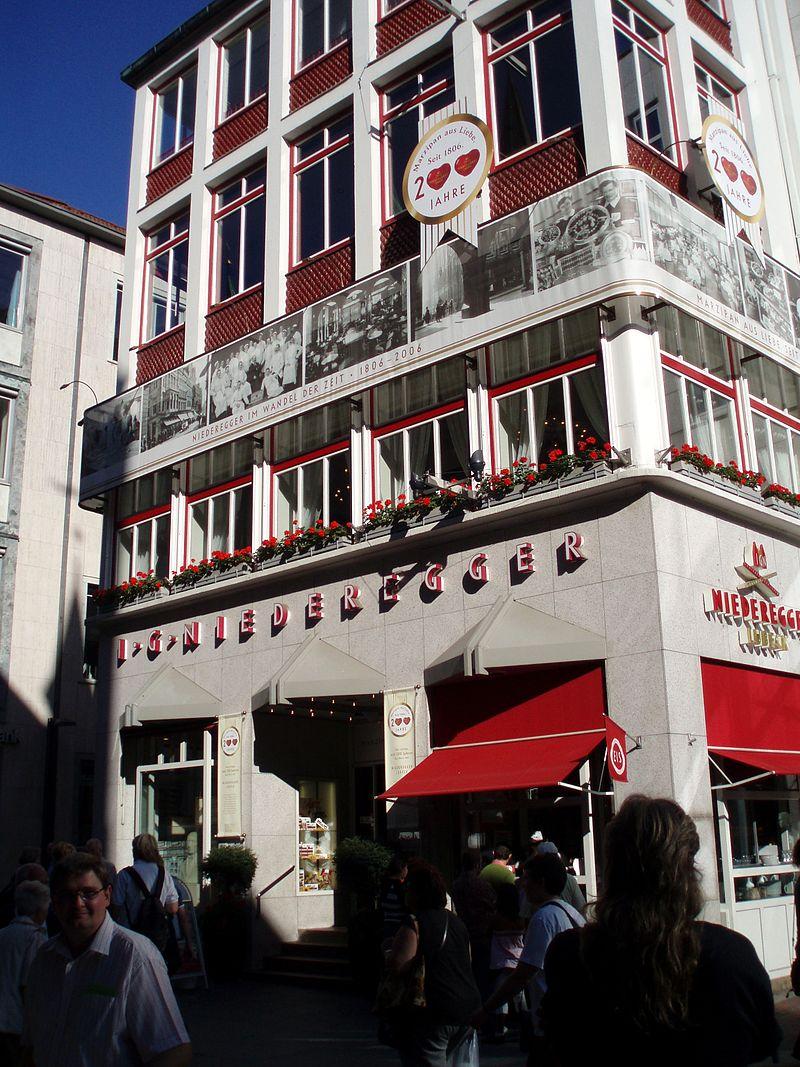 Bild Café Niederegger & Marzipan Salon Lübeck