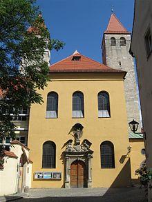 Bild Dompfarrkirche Niedermünster Regensburg